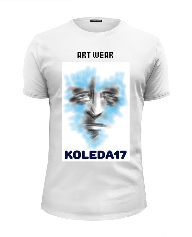 Printio Футболка Wearcraft Premium Slim Fit Art face 2