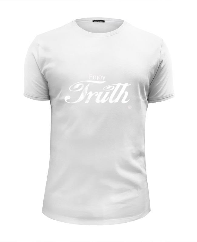 Фото - Printio Футболка Wearcraft Premium Slim Fit Coca cola enjoy truth! printio детская футболка классическая унисекс coca cola enjoy truth
