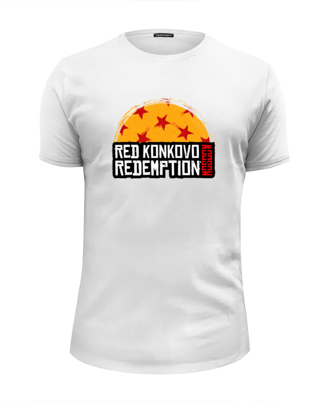 Printio Футболка Wearcraft Premium Slim Fit Red konkovo moscow redemption