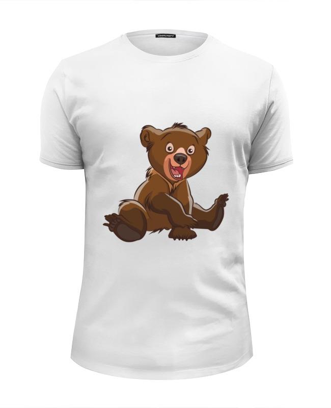 Printio Футболка Wearcraft Premium Slim Fit Медвежонок printio футболка wearcraft premium slim fit спящий медвежонок