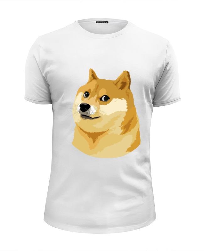 printio футболка wearcraft premium slim fit doge wow Printio Футболка Wearcraft Premium Slim Fit Doge doge
