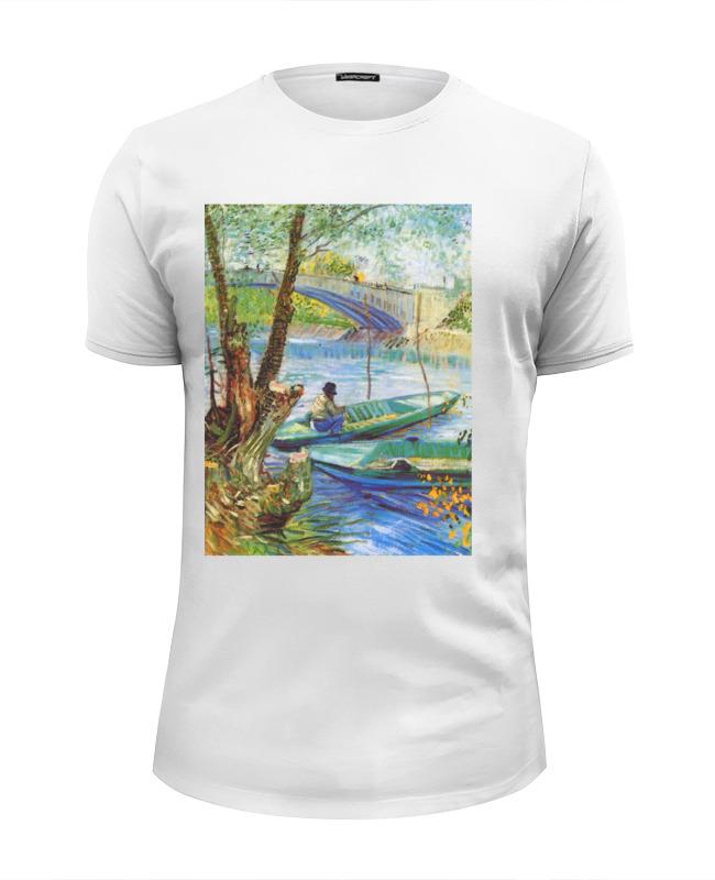 Фото - Printio Футболка Wearcraft Premium Slim Fit Весенняя рыбалка. printio футболка wearcraft premium slim fit рыбалка 1