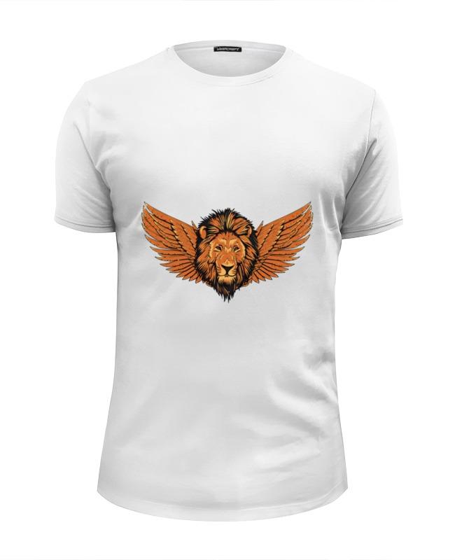 Printio Футболка Wearcraft Premium Slim Fit Крылатый лев