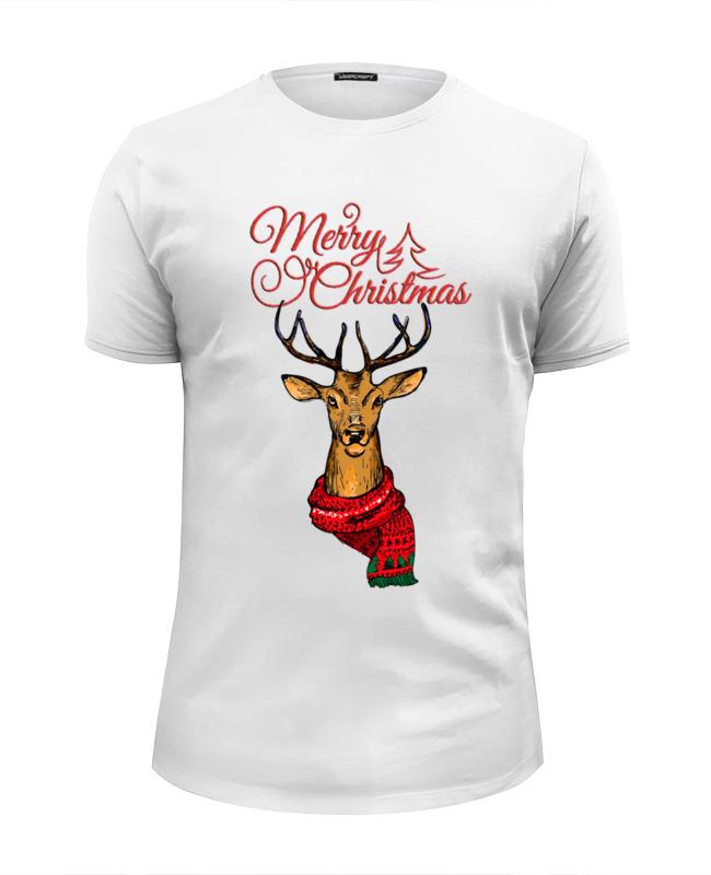Фото - Printio Футболка Wearcraft Premium Slim Fit Merry christmas printio футболка wearcraft premium slim fit christmas deer