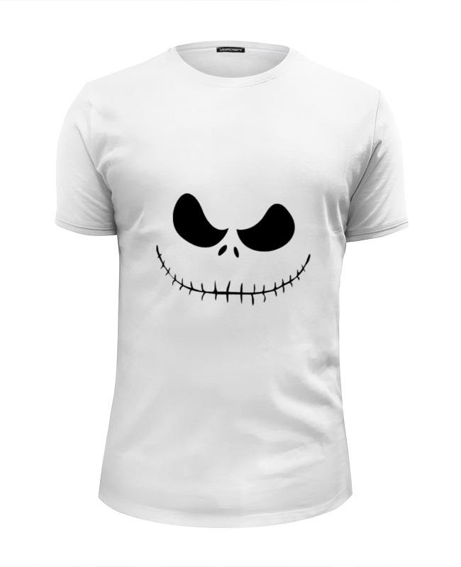 Printio Футболка Wearcraft Premium Slim Fit Smiling skull футболка wearcraft premium printio the smiling