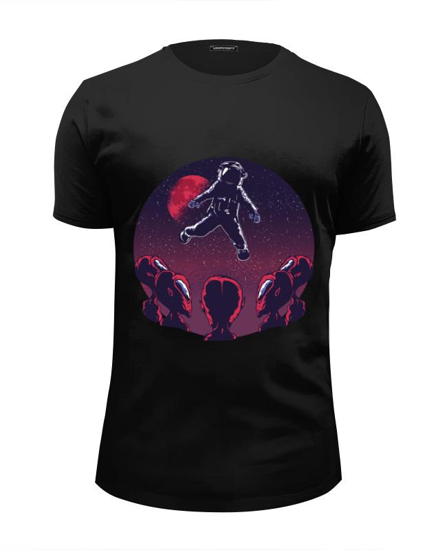 Printio Футболка Wearcraft Premium Slim Fit Astronaut alien футболка wearcraft premium printio alien