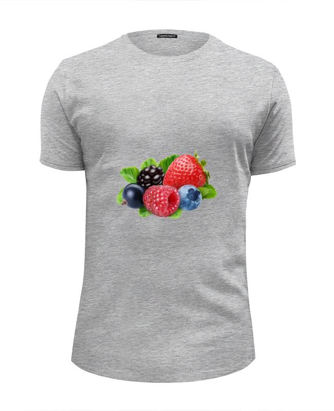 Printio Футболка Wearcraft Premium Slim Fit Berries бомбер printio berries fruits