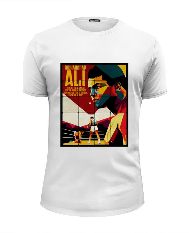 Printio Футболка Wearcraft Premium Slim Fit Muhammad ali printio футболка wearcraft premium slim fit muhammad ali