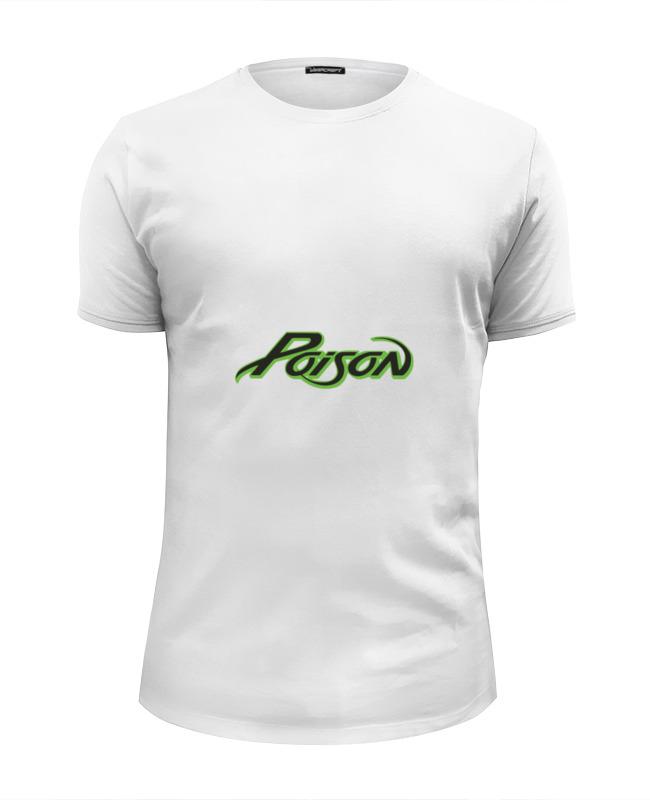 Printio Футболка Wearcraft Premium Slim Fit Poison printio футболка wearcraft premium slim fit в начале было слово