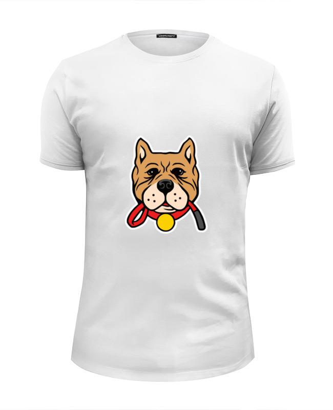 Printio Футболка Wearcraft Premium Slim Fit Умный пёс printio футболка wearcraft premium slim fit влюблённый пёс