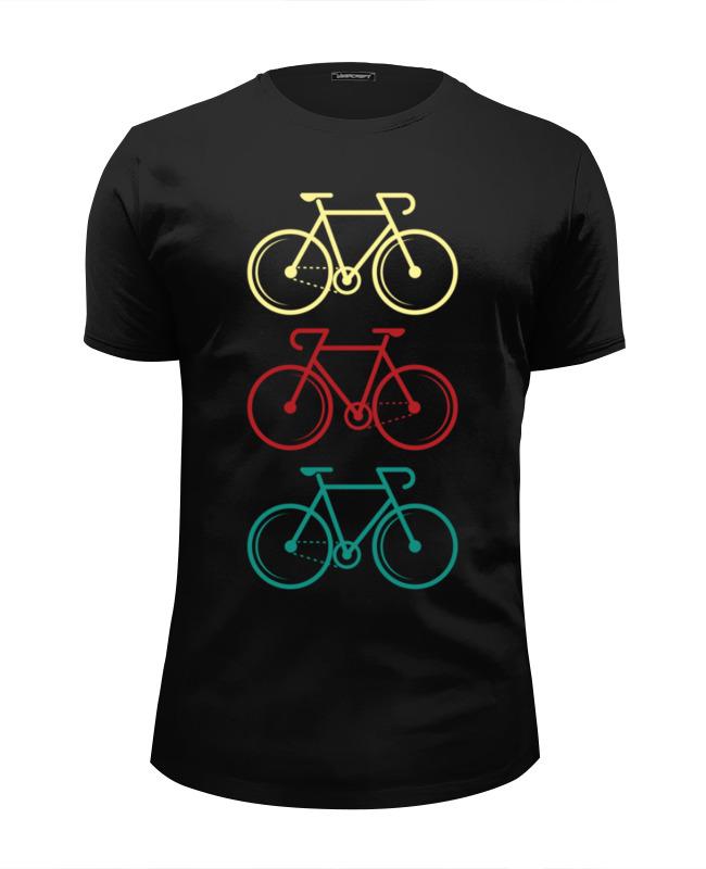 Printio Футболка Wearcraft Premium Slim Fit Велосипеды