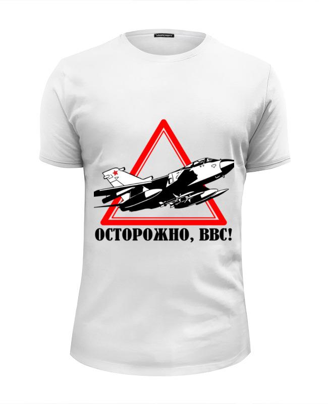 Printio Футболка Wearcraft Premium Slim Fit Ввс россии