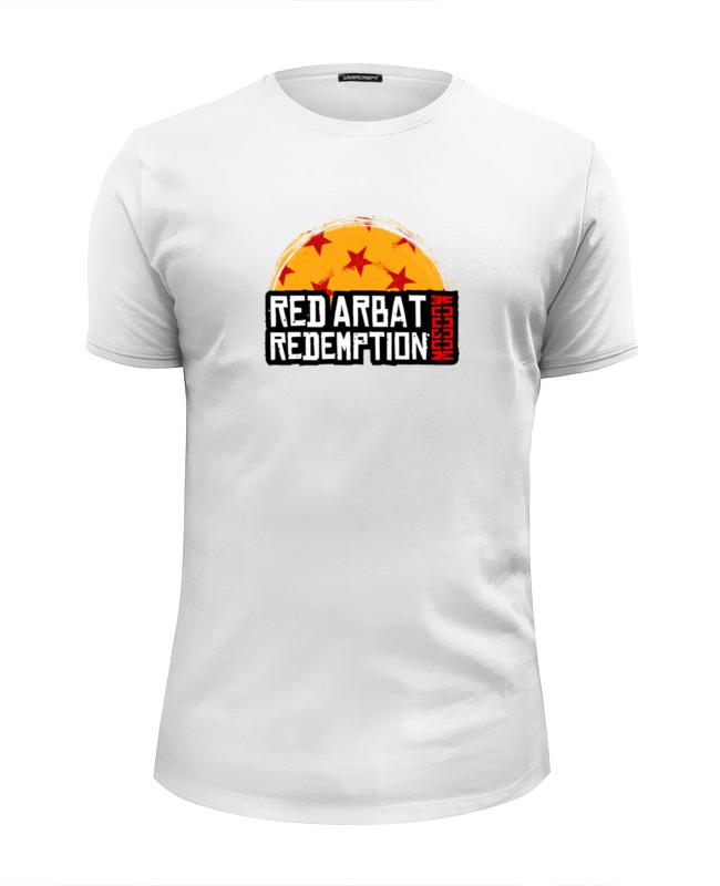 Printio Футболка Wearcraft Premium Slim Fit Red arbat moscow redemption