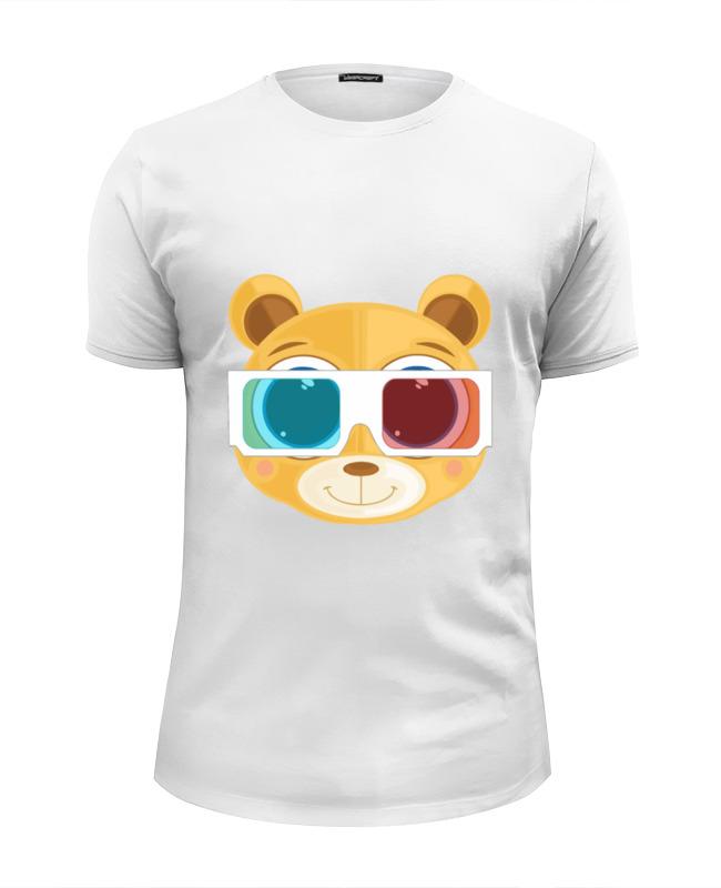Printio Футболка Wearcraft Premium Slim Fit Медведь 3д