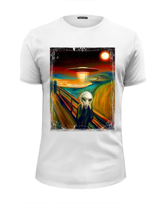Printio Футболка Wearcraft Premium Slim Fit Alien munch футболка wearcraft premium printio alien