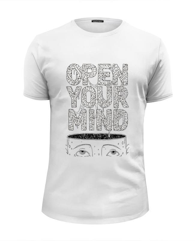 Фото - Printio Футболка Wearcraft Premium Slim Fit Open your mind printio футболка wearcraft premium slim fit ✱rule your mind✱
