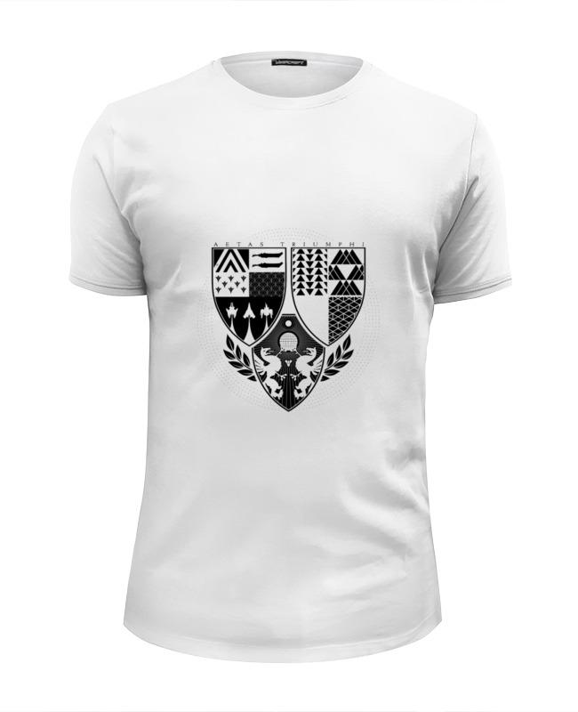Printio Футболка Wearcraft Premium Slim Fit Age of triumph (white) футболка wearcraft premium printio white walker game of thrones