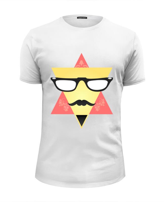 Printio Футболка Wearcraft Premium Slim Fit triangular face