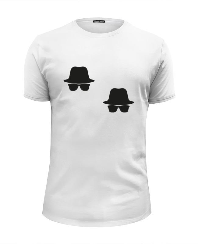 Printio Футболка Wearcraft Premium Slim Fit Братья блюз (the blues brothers)