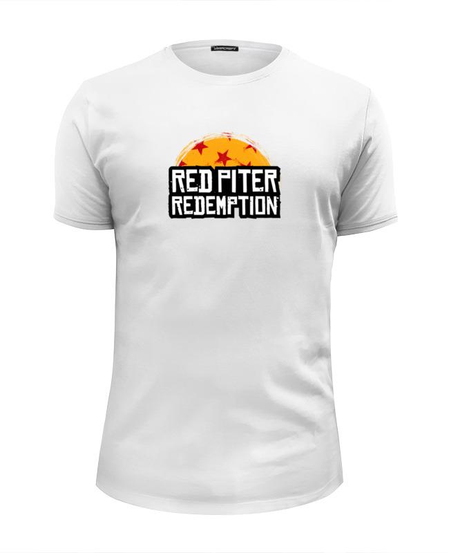 Printio Футболка Wearcraft Premium Slim Fit Red piter redemption