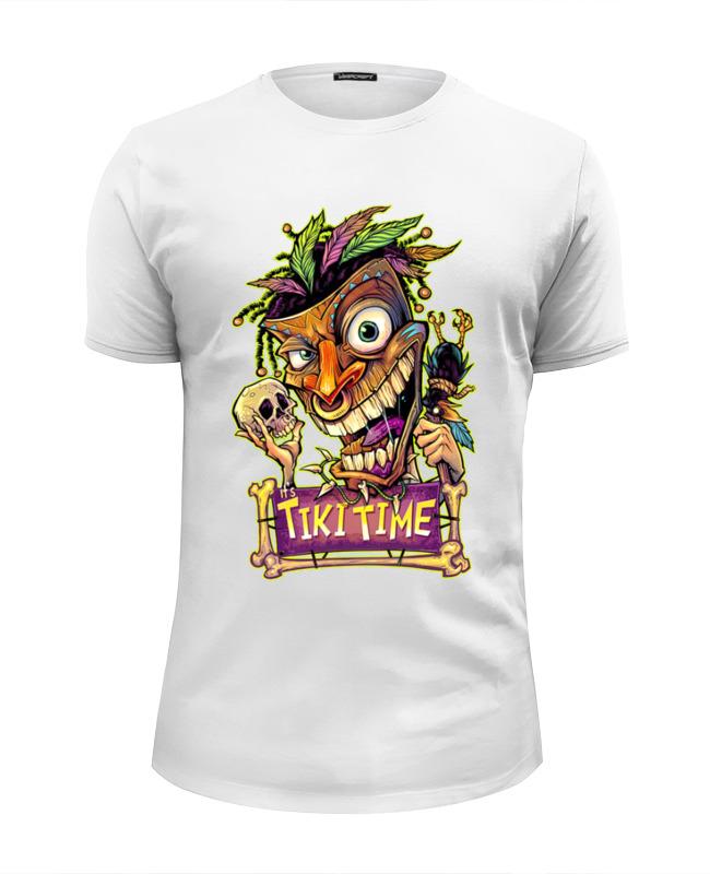 Printio Футболка Wearcraft Premium Slim Fit Tiki time (1) printio футболка wearcraft premium tiki time