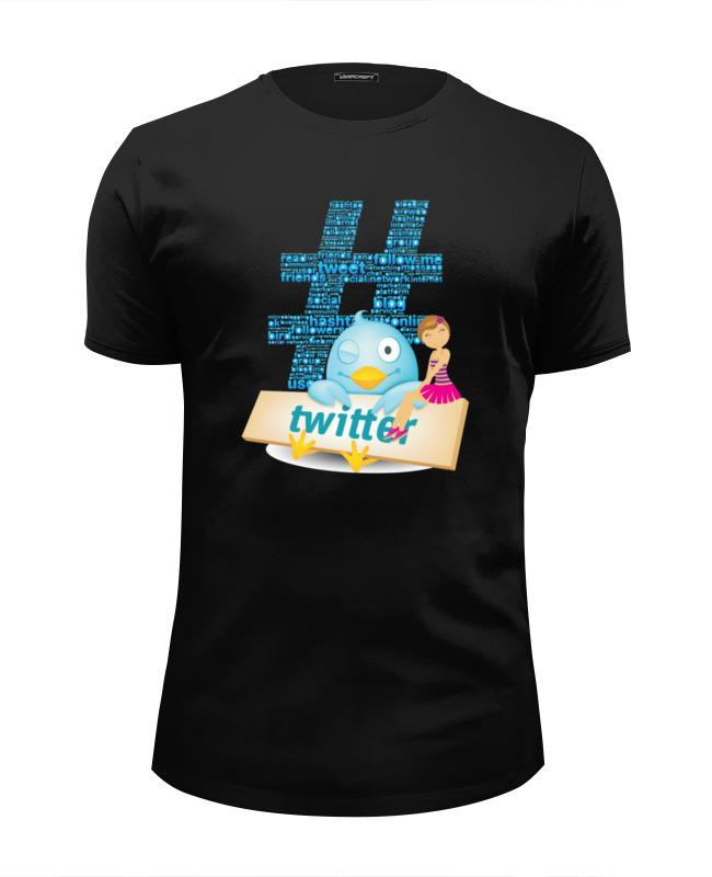 Printio Футболка Wearcraft Premium Slim Fit Твиттер