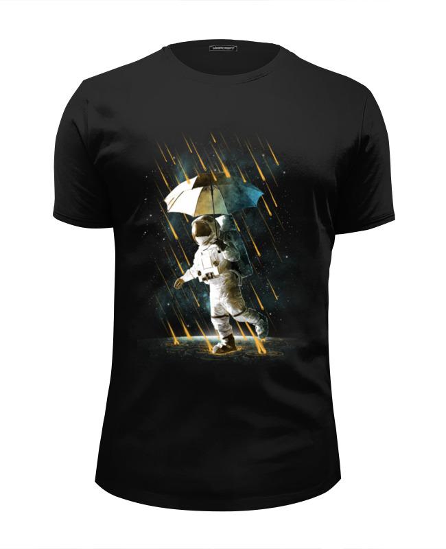 Printio Футболка Wearcraft Premium Slim Fit Метеоритный дождь