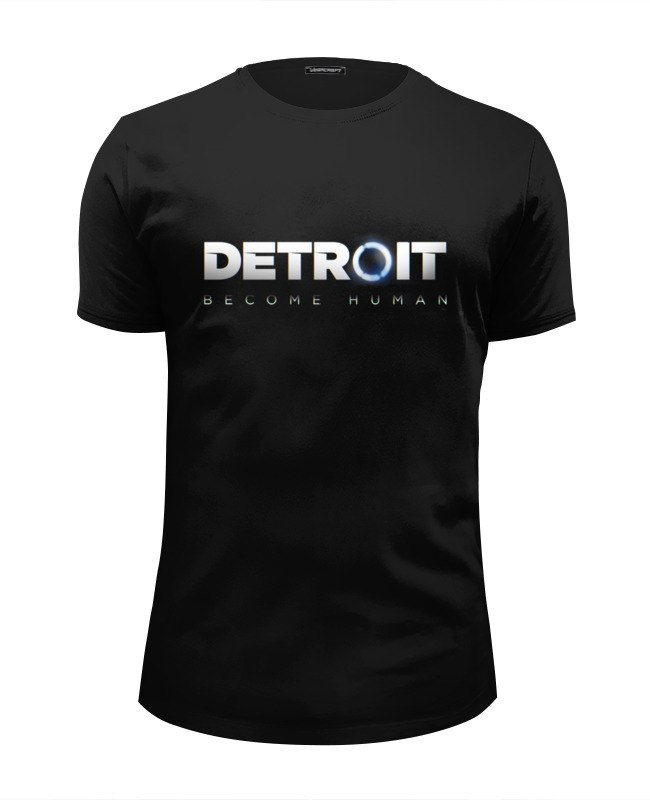 Printio Футболка Wearcraft Premium Slim Fit Detroit: become human