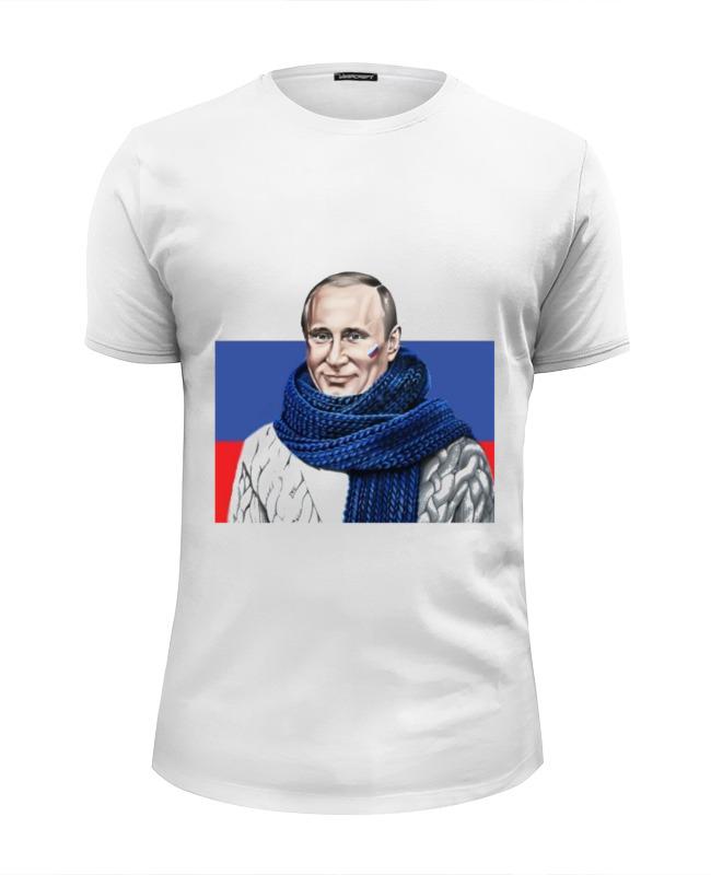 Printio Футболка Wearcraft Premium Slim Fit Путин printio футболка wearcraft premium slim fit путин – привет из крыма