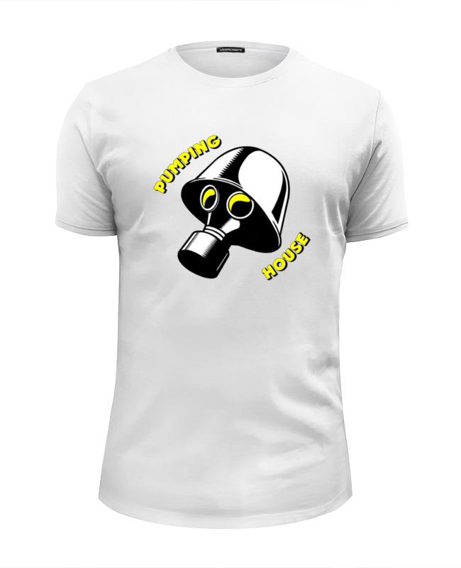 Printio Футболка Wearcraft Premium Slim Fit Pumping house #1 printio футболка wearcraft premium slim fit в начале было слово