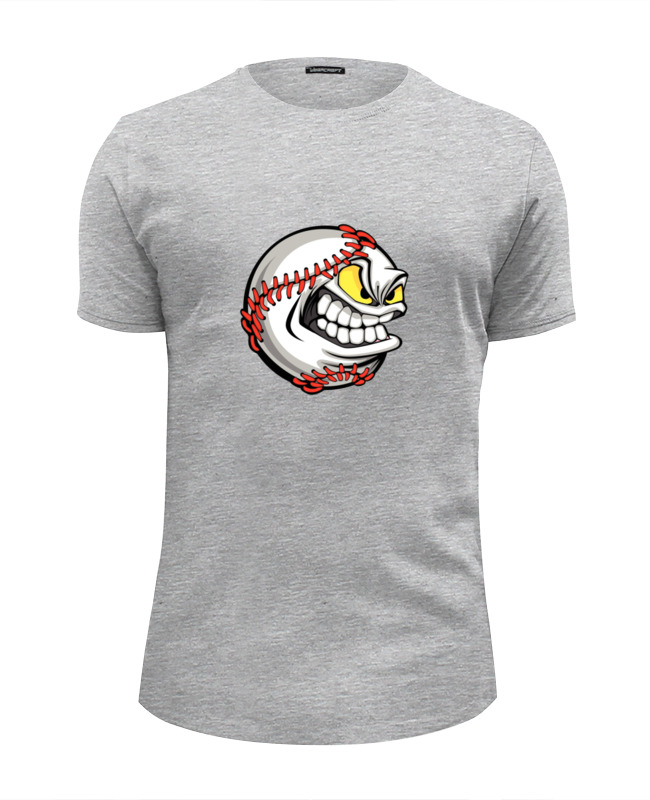 Printio Футболка Wearcraft Premium Slim Fit Бейсбол