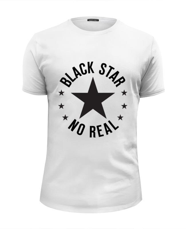 Printio Футболка Wearcraft Premium Slim Fit Black star
