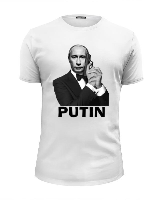 Printio Футболка Wearcraft Premium Slim Fit Путин