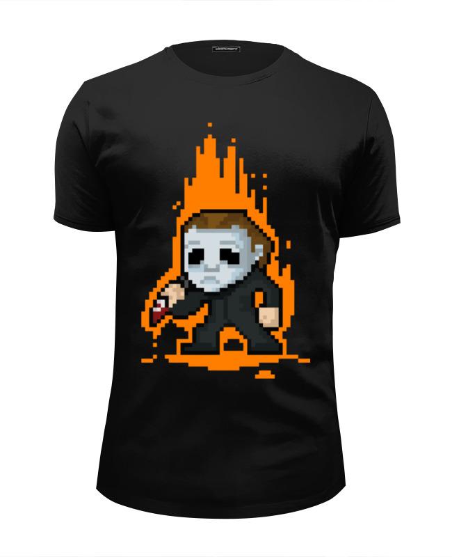 Printio Футболка Wearcraft Premium Slim Fit Майкл майерс (хэллоуин) футболка wearcraft premium slim fit printio майкл джексон