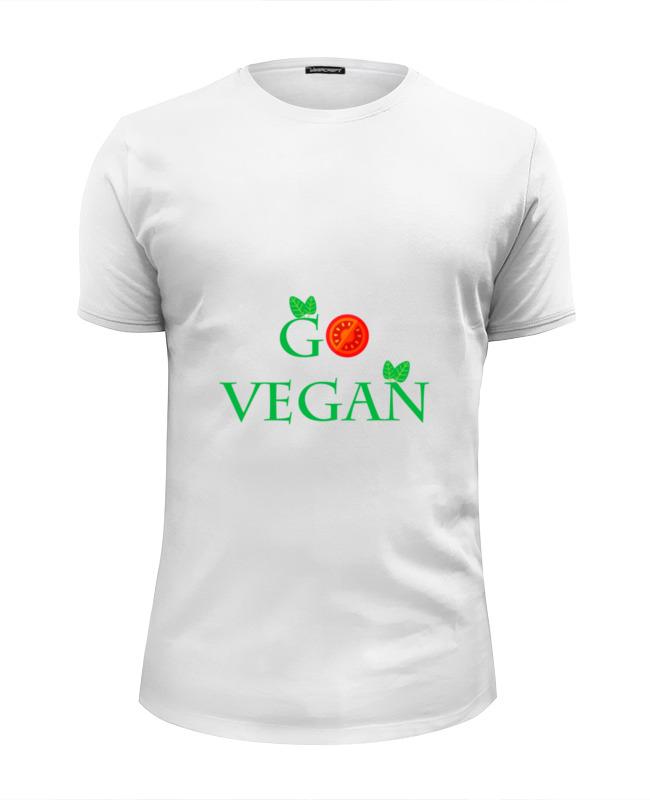 Printio Футболка Wearcraft Premium Slim Fit Go vegan