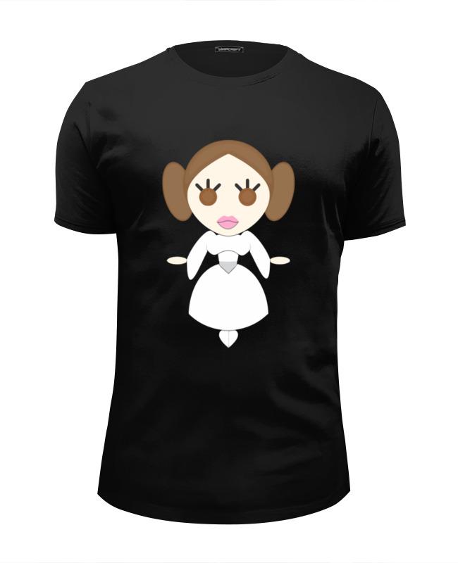 printio футболка wearcraft premium slim fit принцесса лея звездные войны Printio Футболка Wearcraft Premium Slim Fit Принцесса лея (звездные войны)