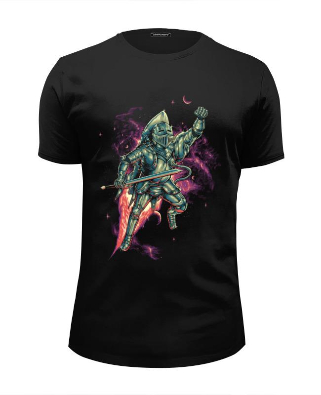Printio Футболка Wearcraft Premium Slim Fit Космический рыцарь printio футболка wearcraft premium slim fit космический серфинг