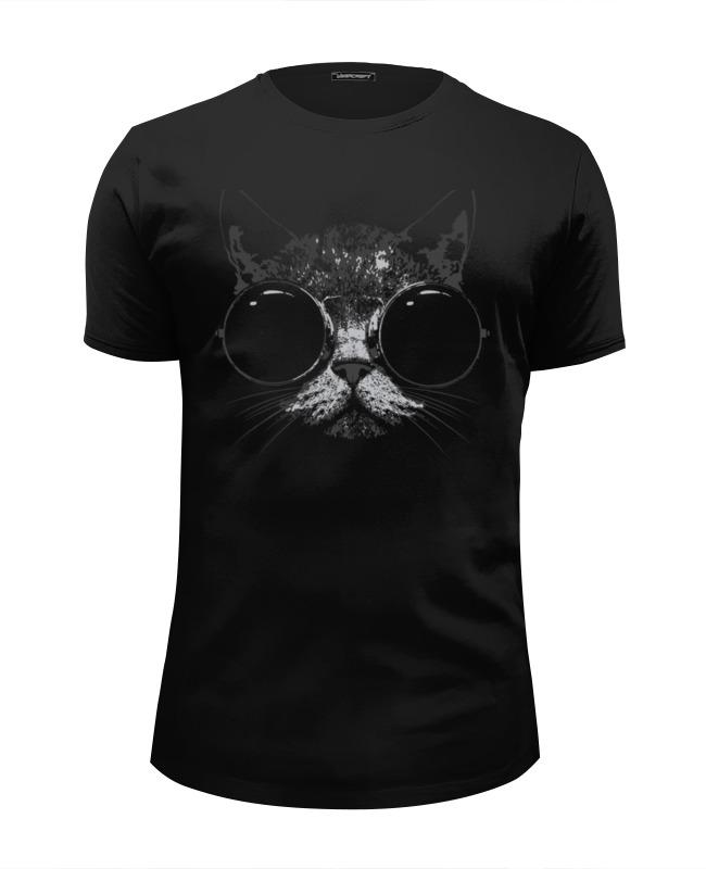 Printio Футболка Wearcraft Premium Slim Fit Стильный кот футболка wearcraft premium slim fit printio кот гарфилд