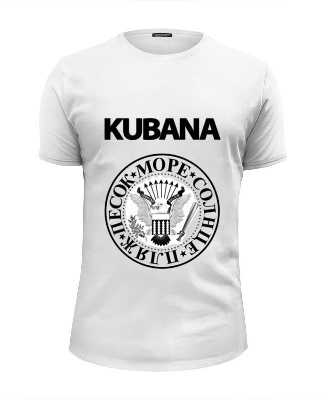 Printio Футболка Wearcraft Premium Slim Fit Kubana printio футболка wearcraft premium slim fit да всем