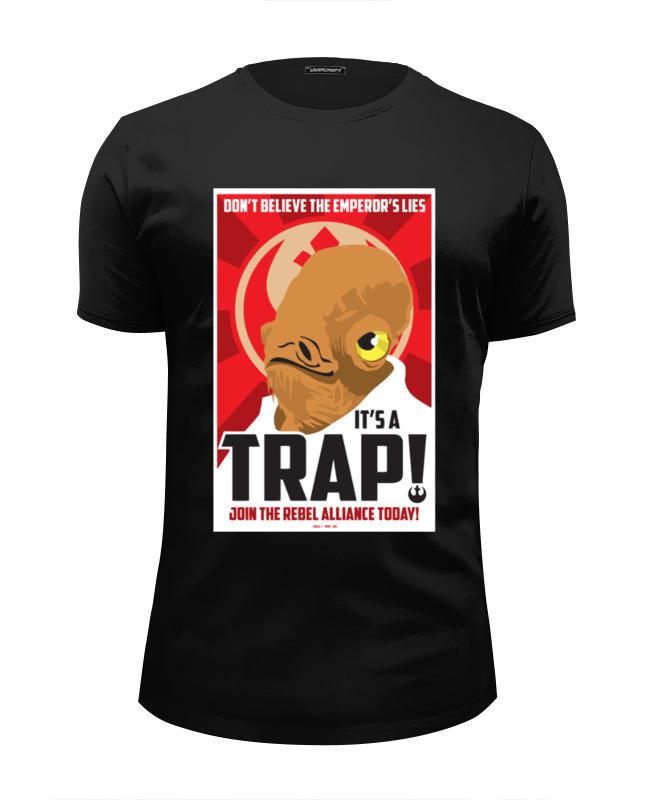 Printio Футболка Wearcraft Premium Slim Fit It's a trap!