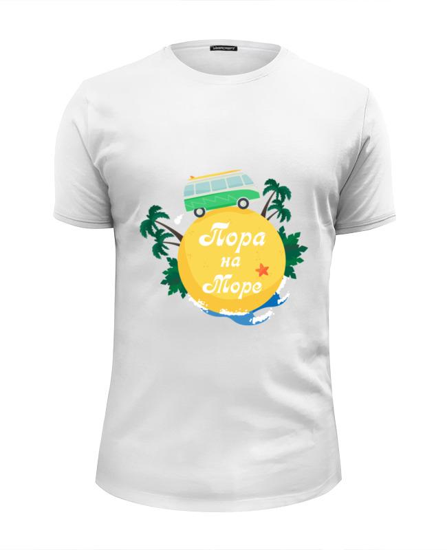 Printio Футболка Wearcraft Premium Slim Fit Пора на море футболка wearcraft premium printio пора на море