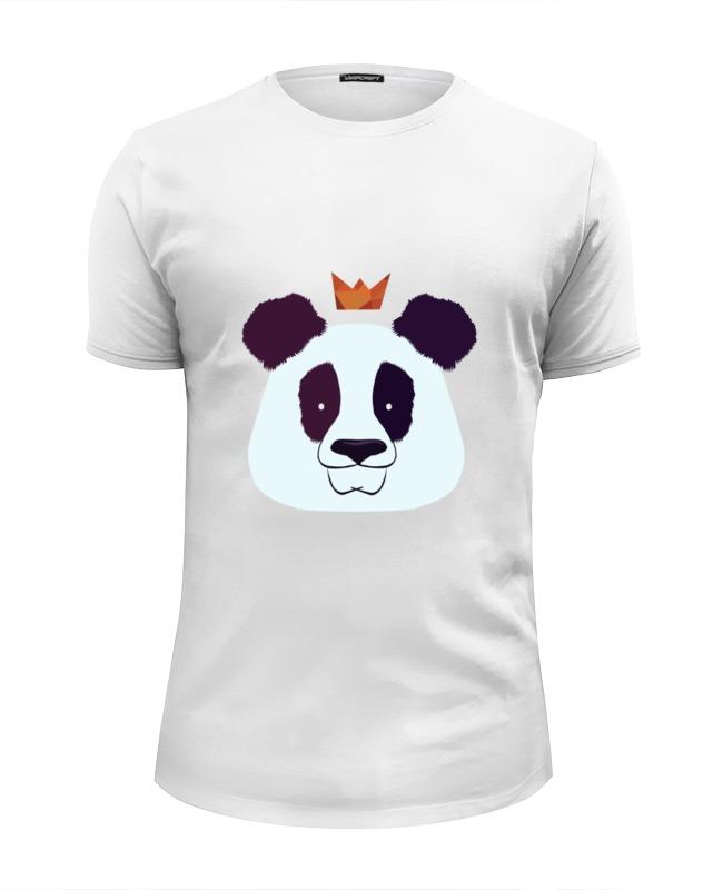 Printio Футболка Wearcraft Premium Slim Fit Король панда