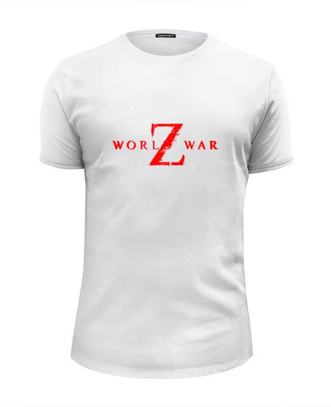 Printio Футболка Wearcraft Premium Slim Fit World war z printio футболка wearcraft premium rugby world cup 2019