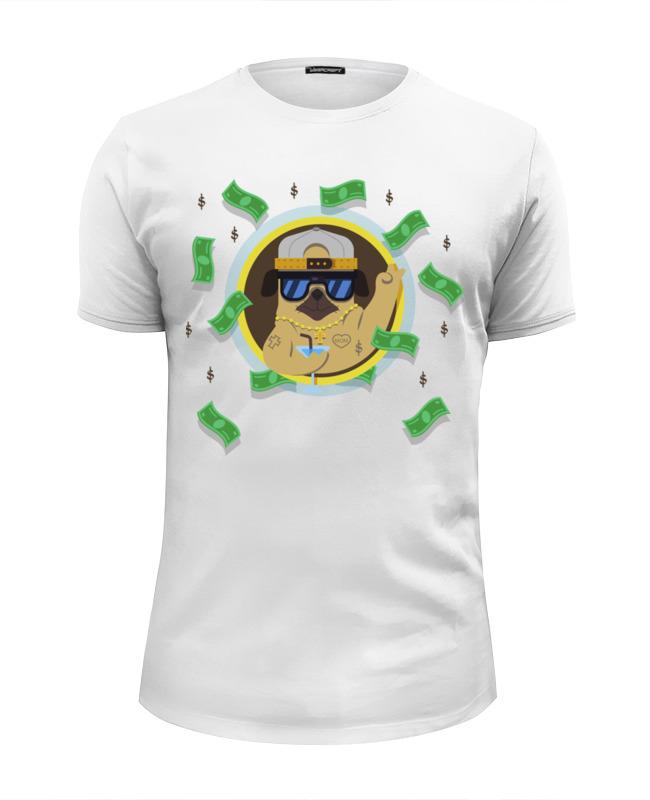 Printio Футболка Wearcraft Premium Slim Fit Гангста мопс printio футболка wearcraft premium slim fit мопс космонавт