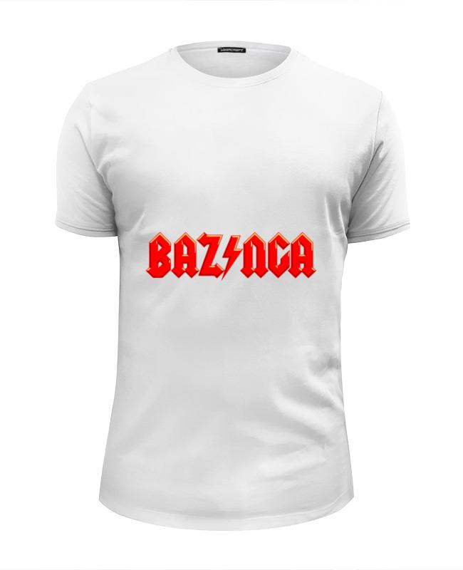 printio bazinga базинга Printio Футболка Wearcraft Premium Slim Fit Bazinga! (базинга)