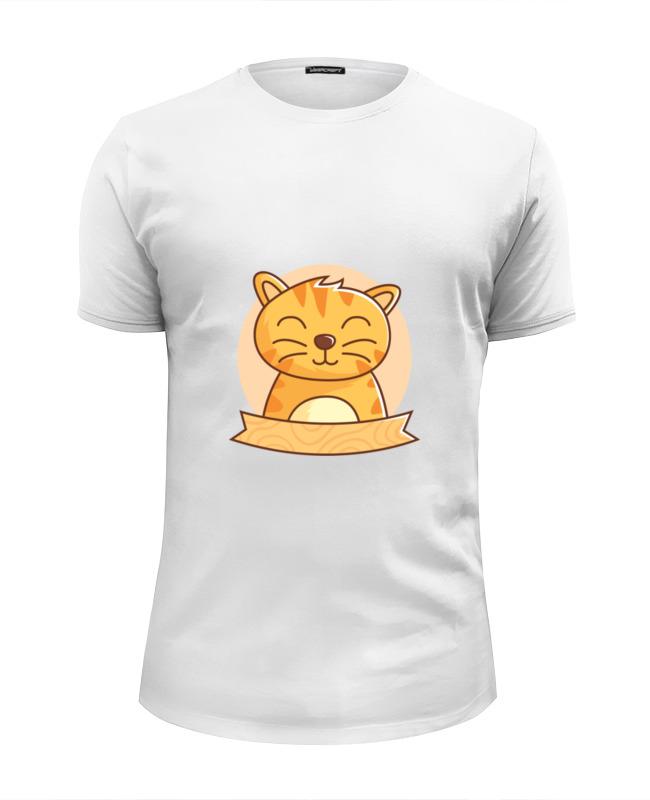 Printio Футболка Wearcraft Premium Slim Fit Спящий котёнок printio футболка wearcraft premium slim fit спящий медвежонок