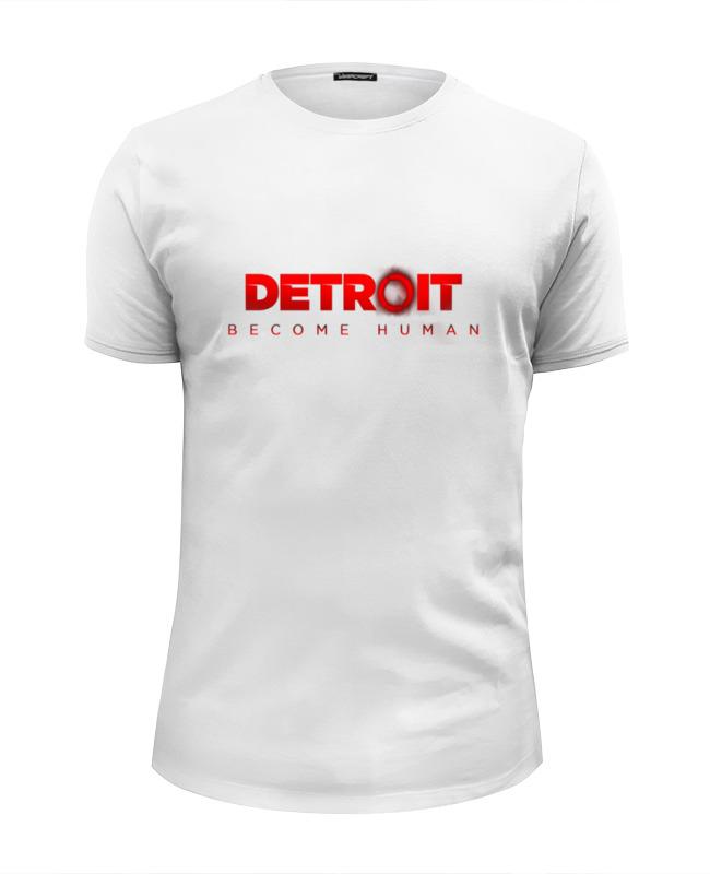 Printio Футболка Wearcraft Premium Slim Fit Detroit become human