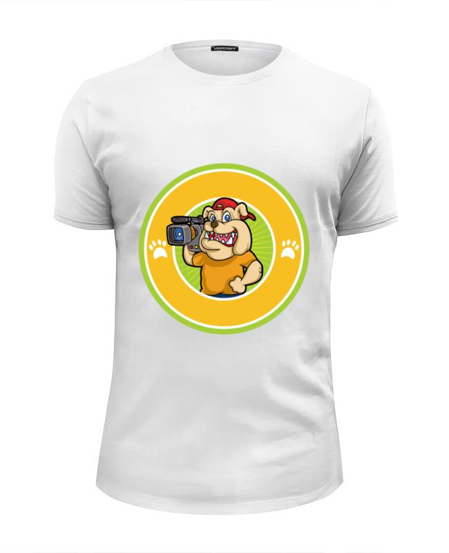 Printio Футболка Wearcraft Premium Slim Fit Пёс-оператор printio футболка wearcraft premium slim fit влюблённый пёс