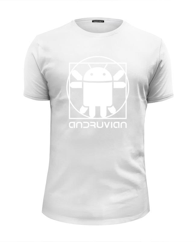 Printio Футболка Wearcraft Premium Slim Fit Витрувианский андроид