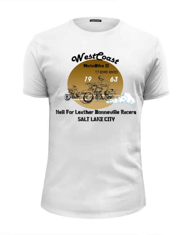 Printio Футболка Wearcraft Premium Slim Fit Westcoast motobike ii (1963)